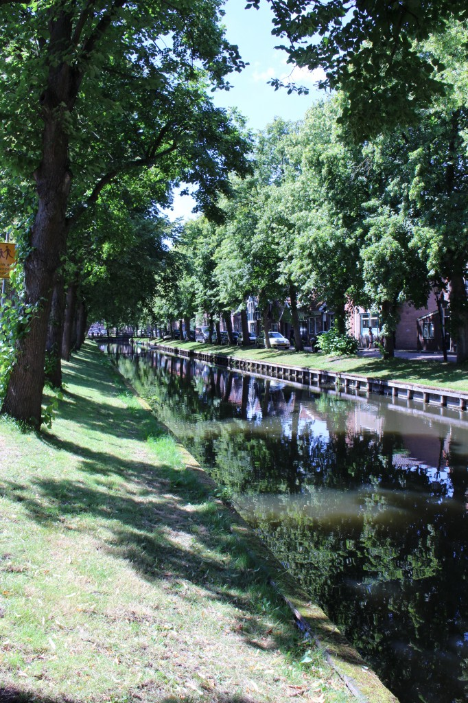 Walking around in Edam, The Netherlands.
