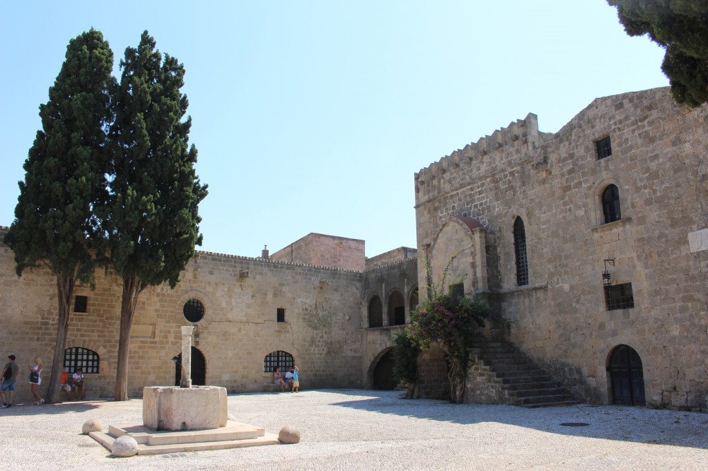 Symis square in the Medieval City of Rhodes