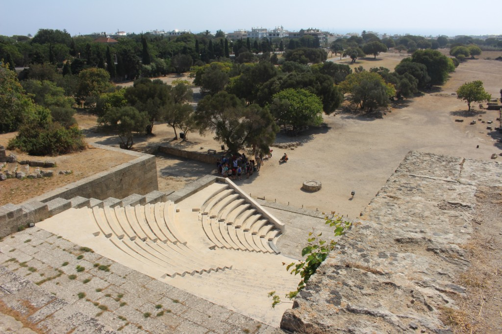 Ancient Theatre in the Acropolis of Rhodes