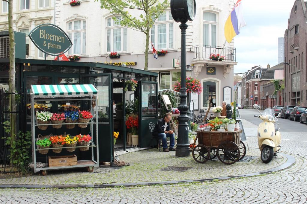 Flower stand in Maastricht