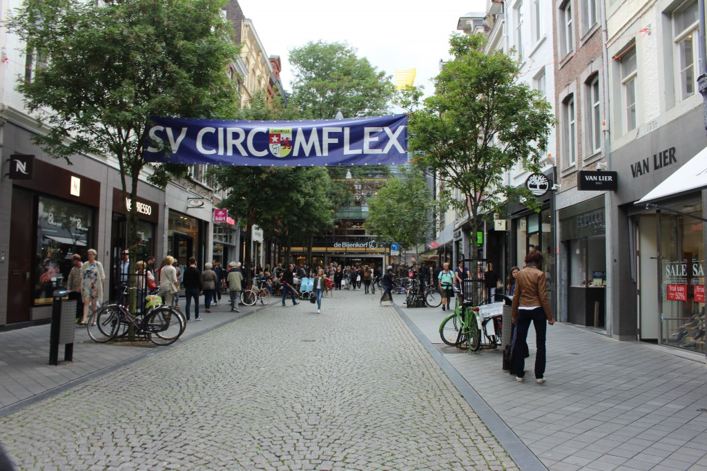 Maastrichter Brugstraat in Maastricht
