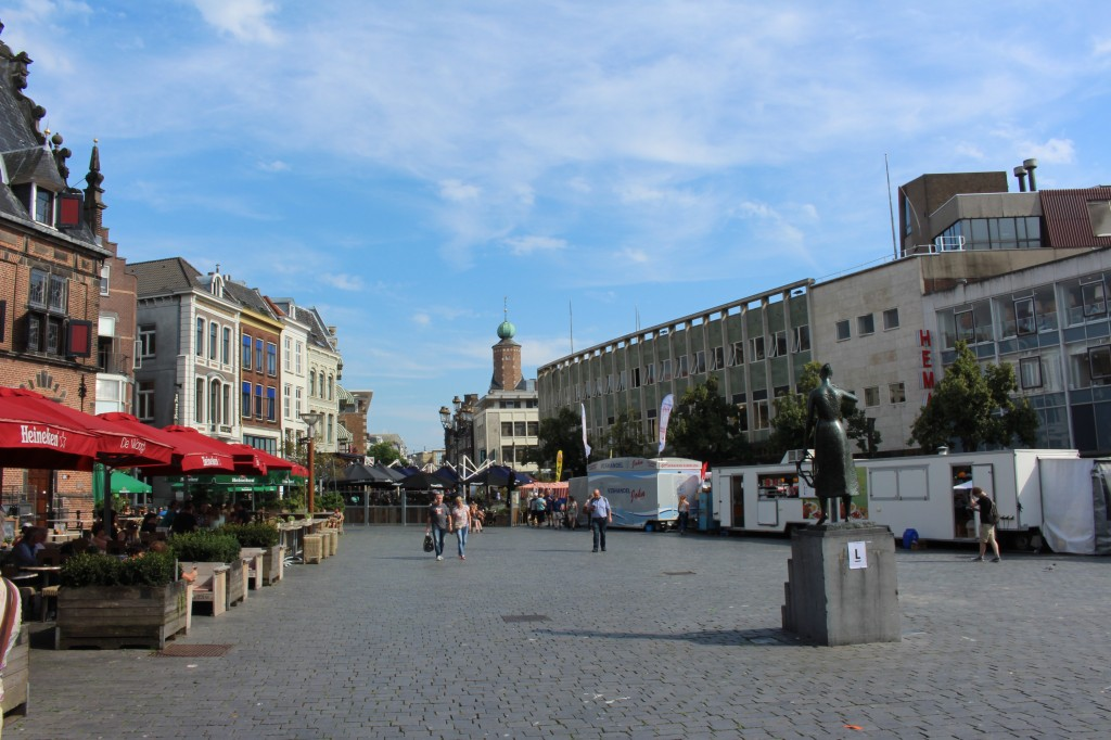 The Market Square in Nijmegen