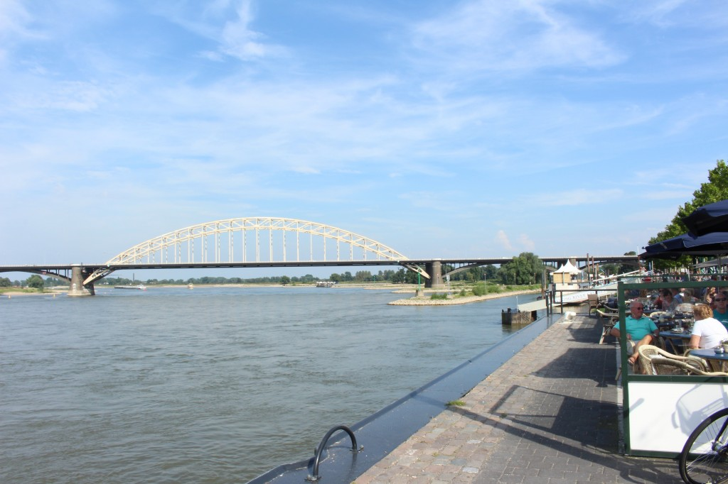The river Waal in Nijmegen